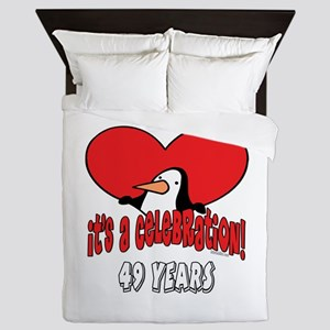 49th Celebration Queen Duvet
