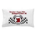 Racing At 30 Pillow Case
