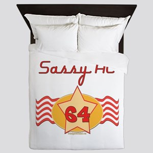 Sassy At 64 Years Queen Duvet