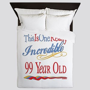 Incredible At 99 Queen Duvet
