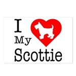 I Love My Scottish Terrier Postcards (Package of 8