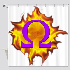 We are Omega! Shower Curtain