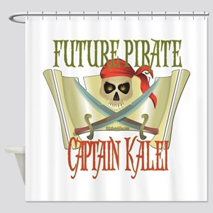Captain Kalei Shower Curtain