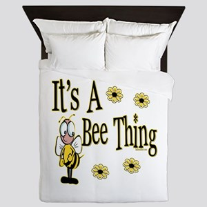 Bee Thing! Queen Duvet
