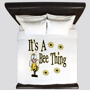 Bee Thing! King Duvet