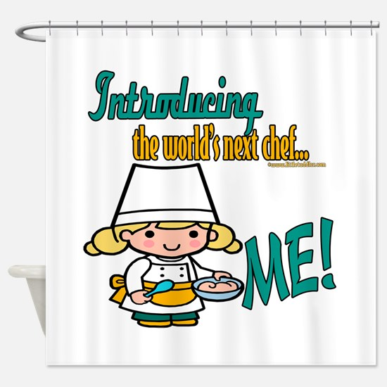 Future Chefs Shower Curtain