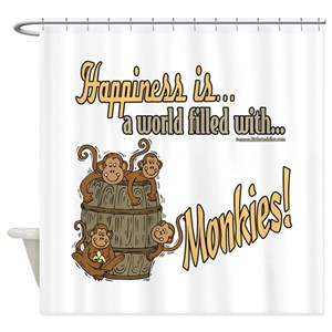 Little Monkey Shower Curtains