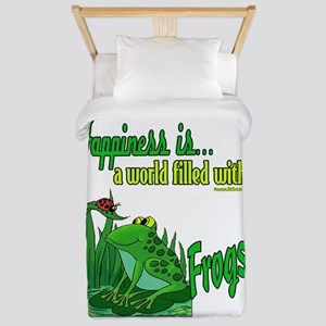 Happiness is a Frog Twin Duvet