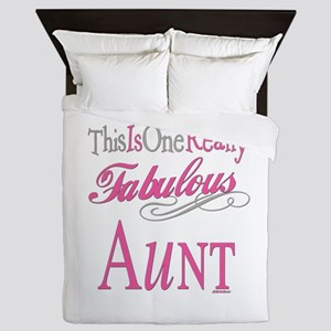 Fabulous Aunt Queen Duvet