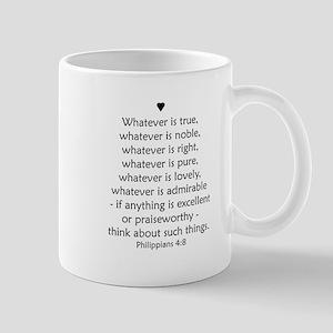 PHILIPPIANS 4:8 Mug
