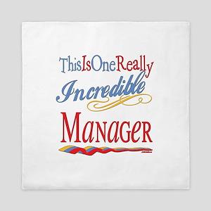 Incredible Manager Queen Duvet