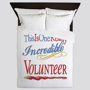 Incredible Volunteer Queen Duvet