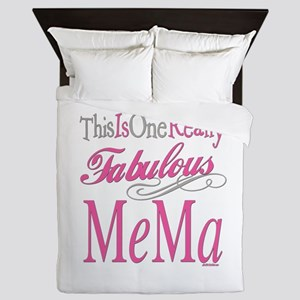 Fabulous Mema Queen Duvet