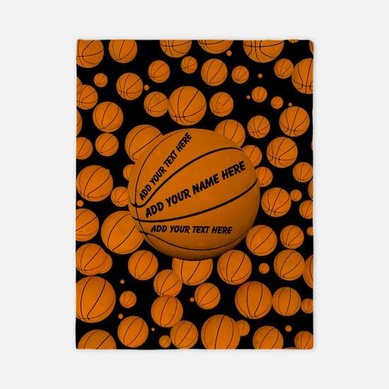 Basketball Twin Duvet Cover