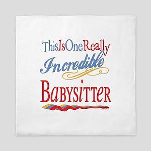 Incredible Babysitter Queen Duvet