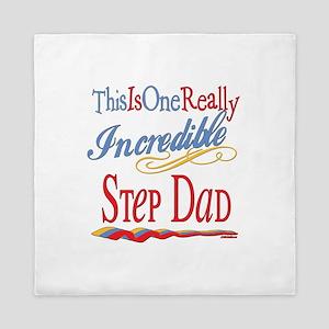 Incredible Step Dad Queen Duvet