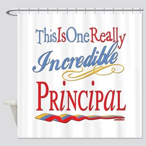 Incredible Principal Shower Curtain