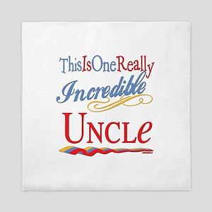 Incredible Uncle Queen Duvet