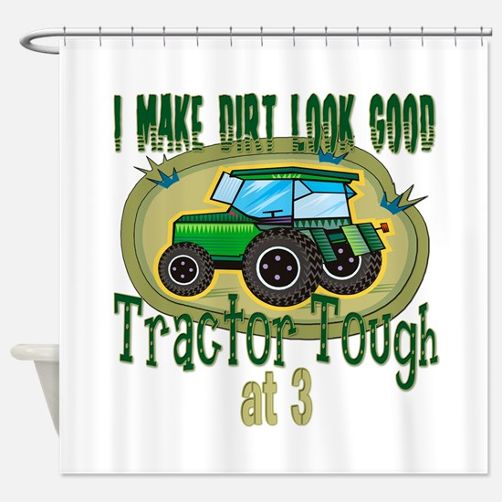 Tractor Tough 3rd Shower Curtain