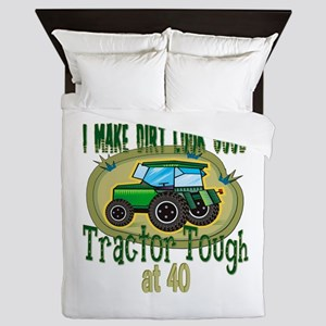 Tractor Tough 40th Queen Duvet