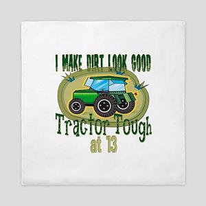 Tractor Tough 13th Queen Duvet