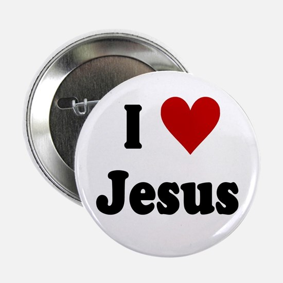 "I Love Jesus 2.25"" Button"