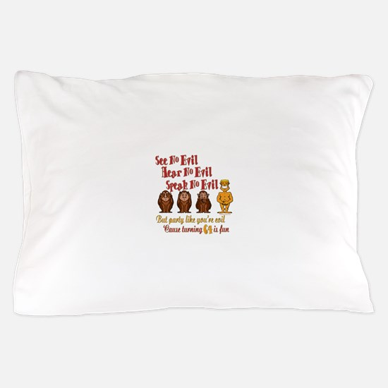 Party 64th Pillow Case