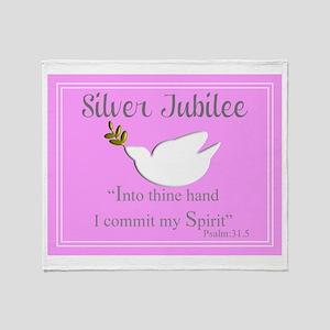 Nuns Jubilee III Throw Blanket