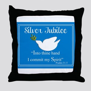 Nuns Jubilee III Throw Pillow