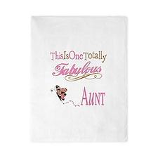 Fabulous Aunt Twin Duvet Cover