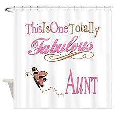 Fabulous Aunt Shower Curtain