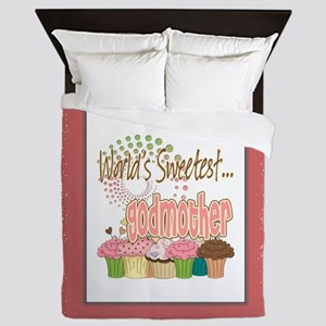 Sweetest Godmother Queen Duvet