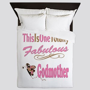 Totally Fabulous Godmother Queen Duvet