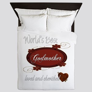 Cherished Godmother Queen Duvet