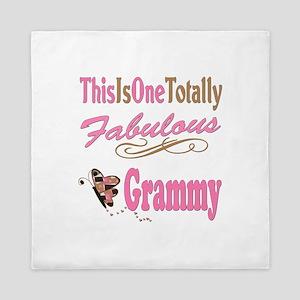 Totally Fabulous Grammy Queen Duvet
