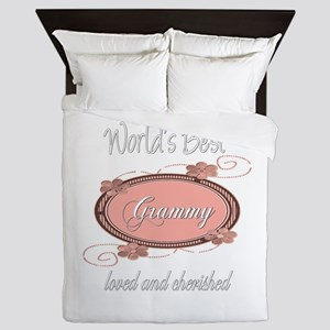 Cherished Grammy Queen Duvet