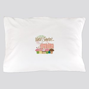 World's Sweetest Grandmother Pillow Case