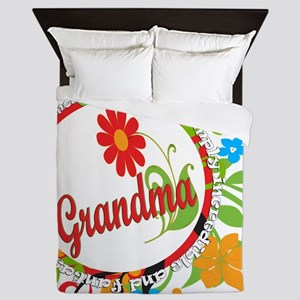 Wonderful Grandma Queen Duvet