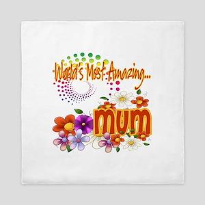 Most Amazing Mum Queen Duvet
