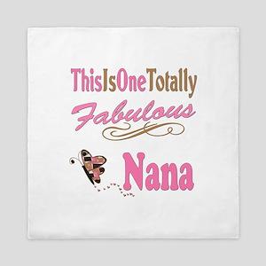 Totally Fabulous Nana Queen Duvet