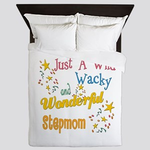 Wild Wacky Step Mom Queen Duvet
