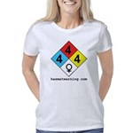 hazmat_10x10_4x4x4_female_ Women's Classic T-Shirt