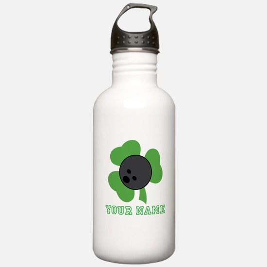 Personalized Irish Bowling Gift Water Bottle