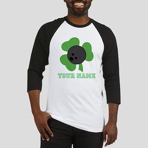 Personalized Irish Bowling Gift Baseball Jersey