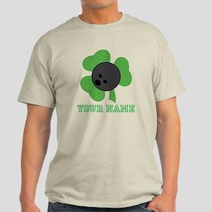 Personalized Irish Bowling Gift Light T-Shirt