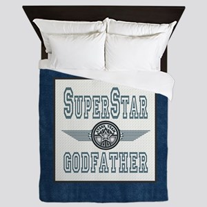 Superstar Godfather Queen Duvet