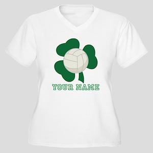Personalized Irish Volleyball Gift Women's Plus Si