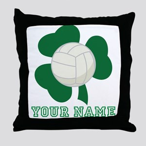 Personalized Irish Volleyball Gift Throw Pillow