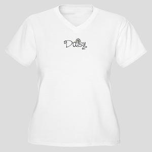 Daisy 01 Women's Plus Size V-Neck T-Shirt