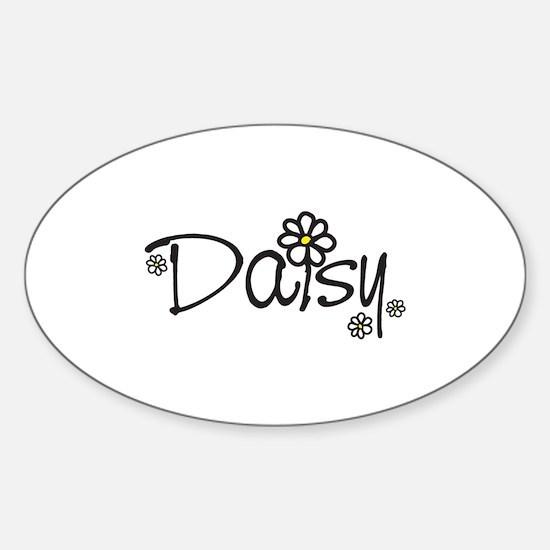 Daisy 01 Sticker (Oval)